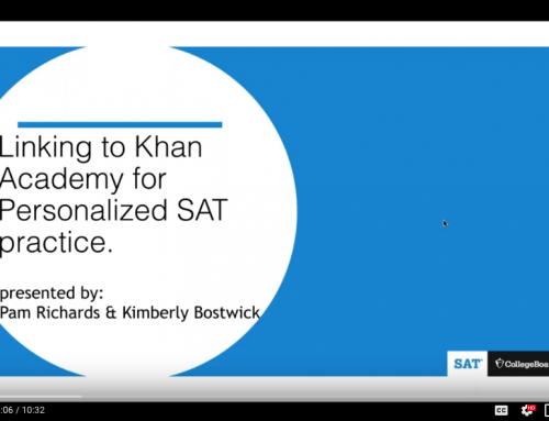 VIDEO: How to Link to Khan Academy for Personalized SAT Practice